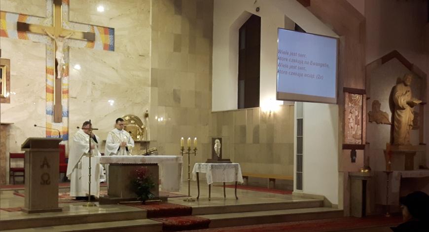 Sztafeta dotarła do świętych Łukasza i Floriana