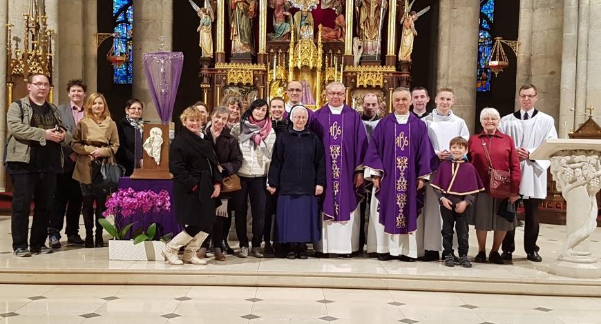 Sztafeta zawitała do katedry!
