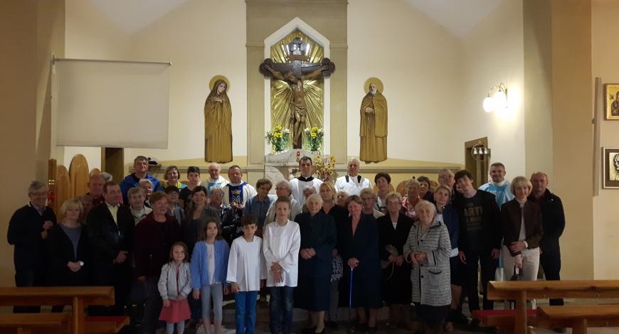 Sztafeta w parafii pw. św. Alberta w Piotrkowie