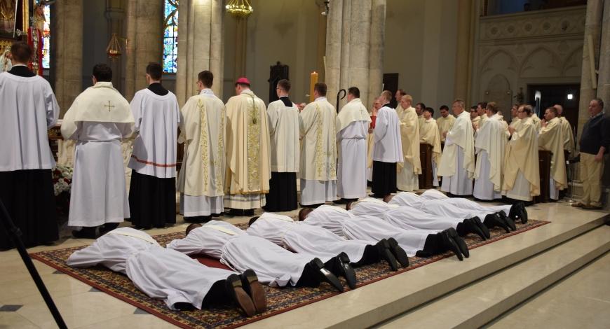 Święcenia prezbiteratu 25 maja 2017 r.