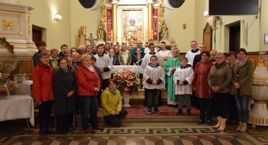 Sztafeta powołaniowa: parafia Wniebowzięcia Najświętszej Maryi Panny w Czarnocinie