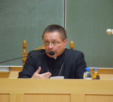 Konferencja Ks. Arcybiskupa Grzegorza Rysia