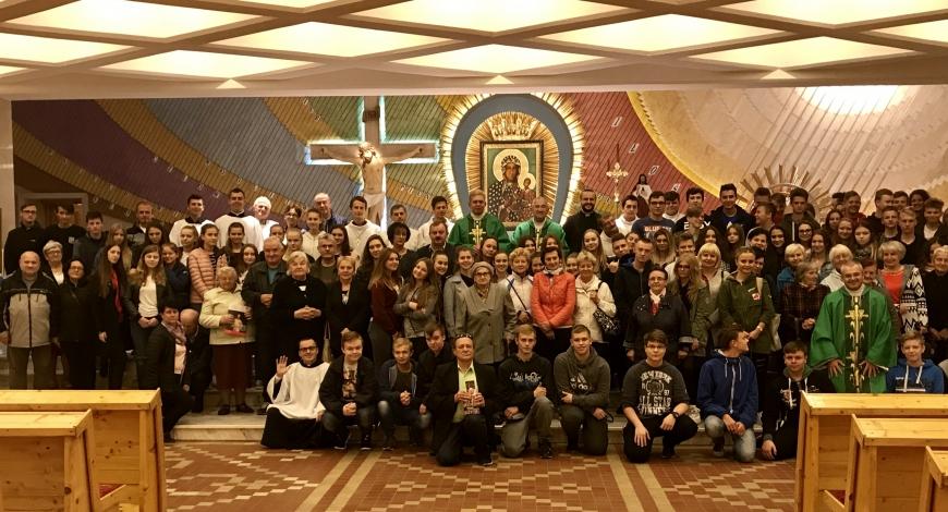 Sztafeta modlitw o powołania: parafia pw. NMP Królowej Polski w Tomaszowie Mazowieckim