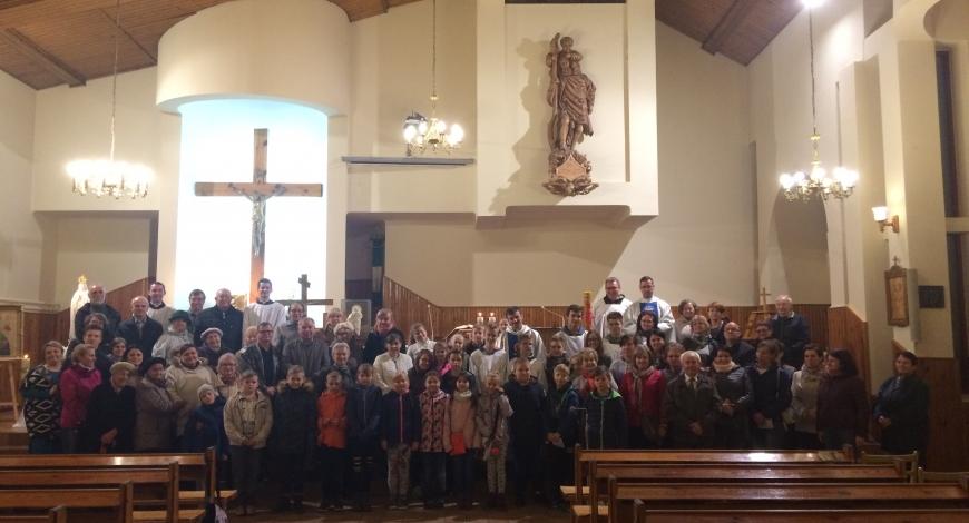 Sztafeta powołaniowa: parafia pw. św. Krzysztofa w Tuszyn-Lesie