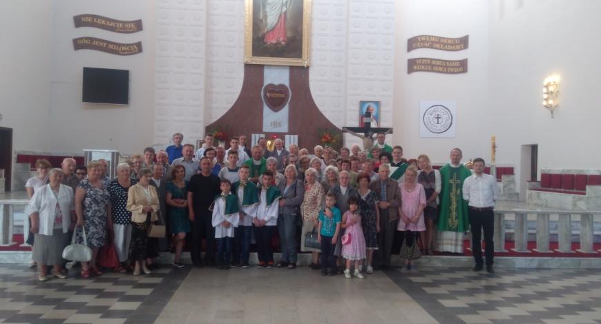 Sztafeta w parafii pw. Najświętszego Serca Jezusowego (Piotrków Trybunalski)