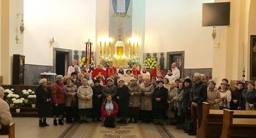 Sztafeta w parafii pw. św. Kazimierza