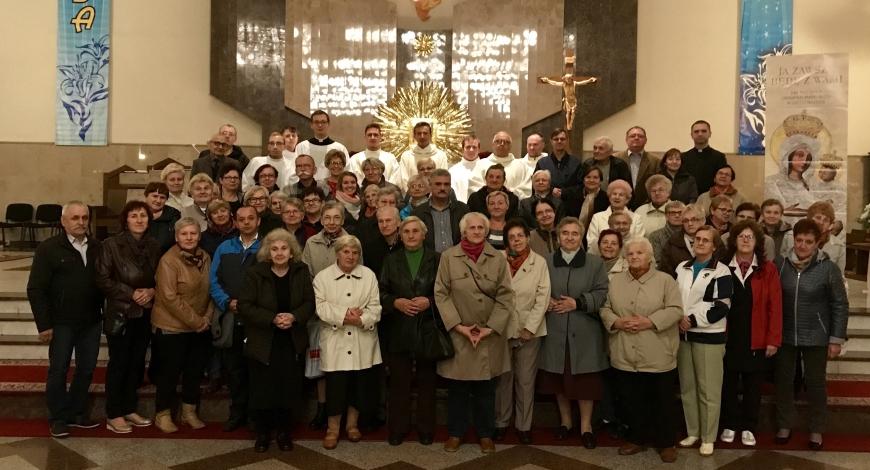 Sztafeta u Świętej Jadwigi w Tomaszowie Mazowieckim