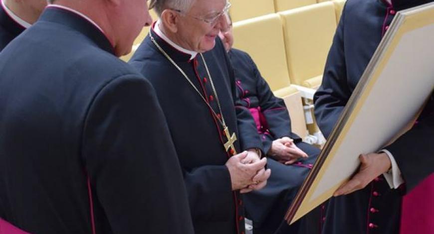 Pożegnanie ks. Abp. Marka Jędraszewskiego