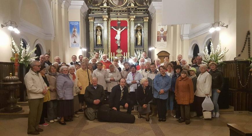Sztafeta w sanktuarium św. Antoniego (Tomaszów Maz.)