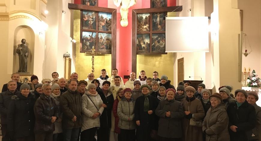 Sztafeta w parafii pw. Chrystusa Króla (Zgierz)